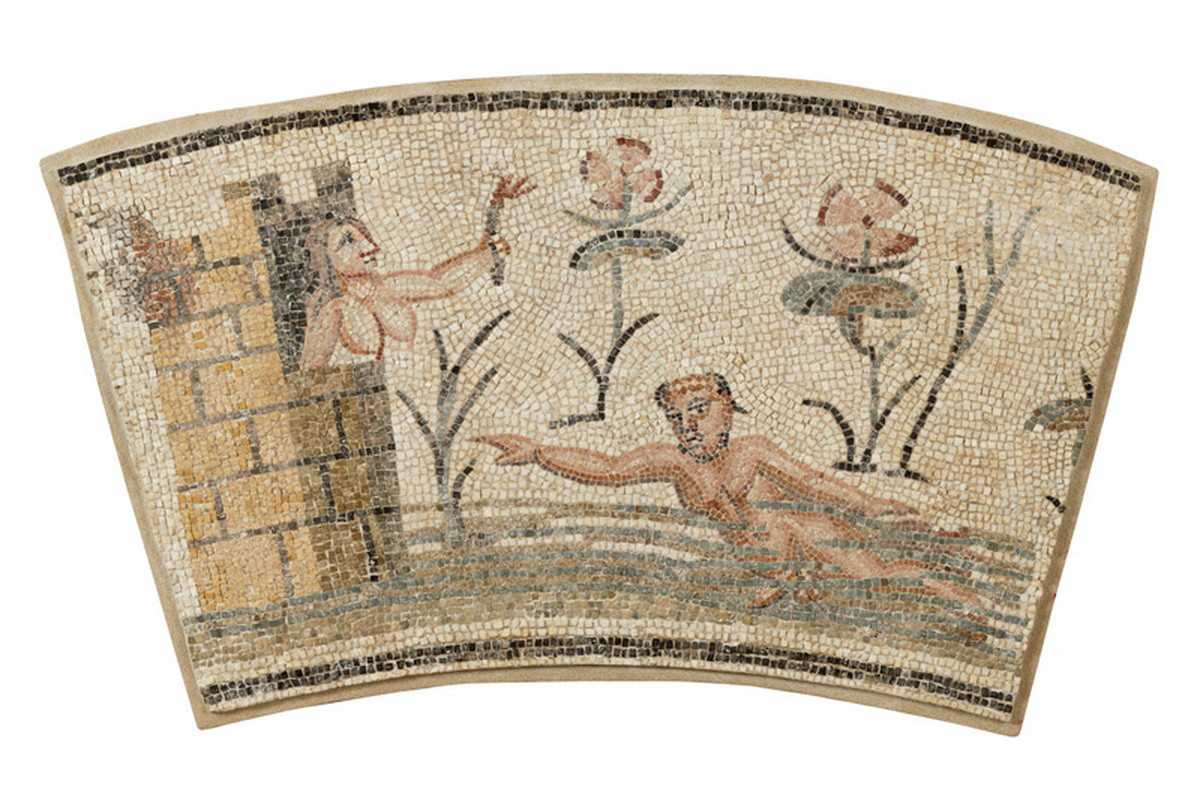 Hero and Leander Mosaic