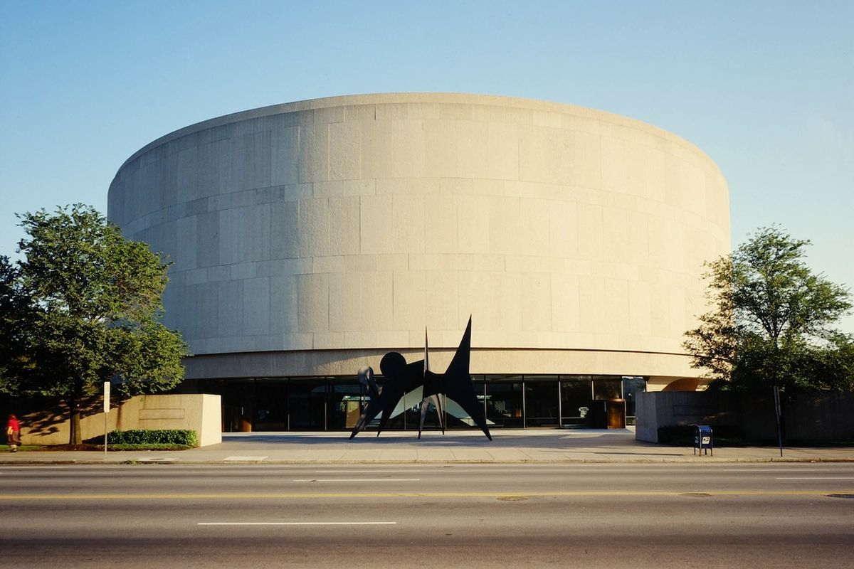 Hirshhorn Museum and Sculpture Garden, via museem