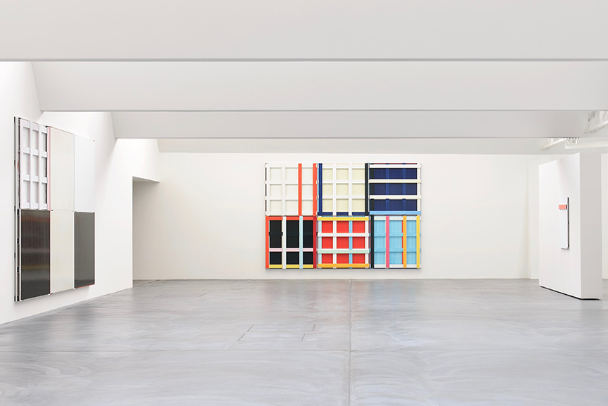 Imi Knoebel, Installation View, 2010-11, von Bartha, Basel, courtesy von Bartha