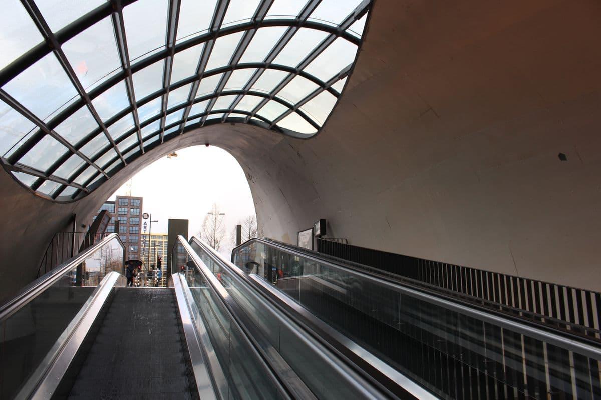 Inside entrances