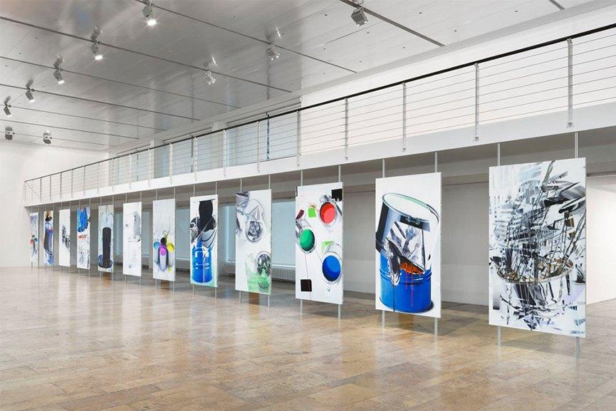 Installation view - Dirk Skreber - The Long Hello, January 9 - February 27, 2016,