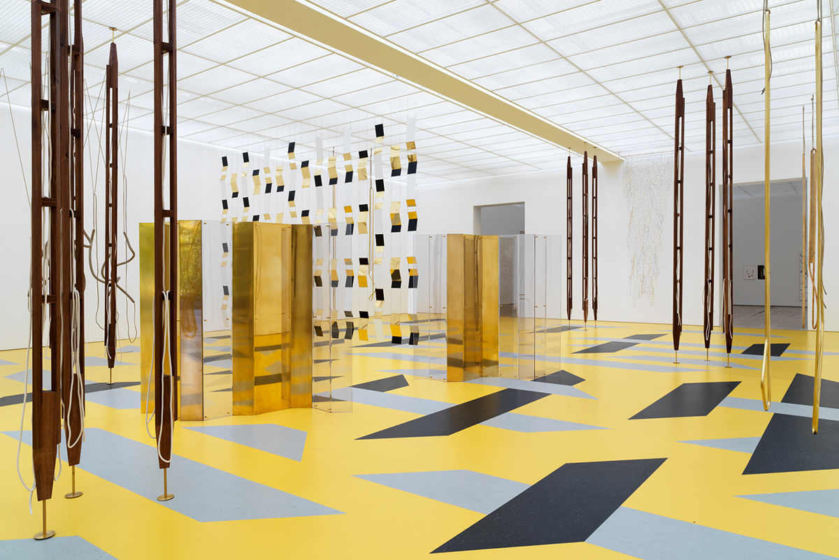 Installation view Resonating Spaces Fondation Beyeler 2019 1