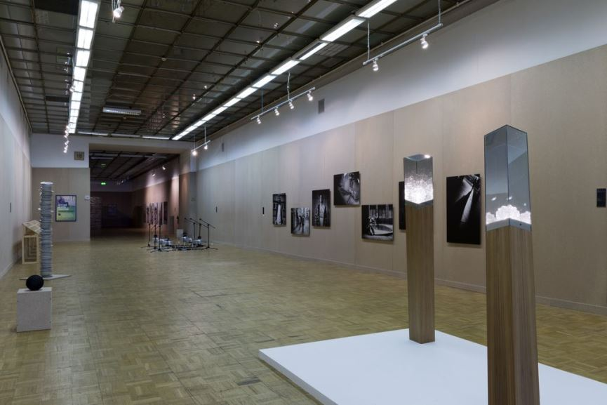 Installation view from the Third Moscow Biennale, 2012 (via amir-fattal.com)
