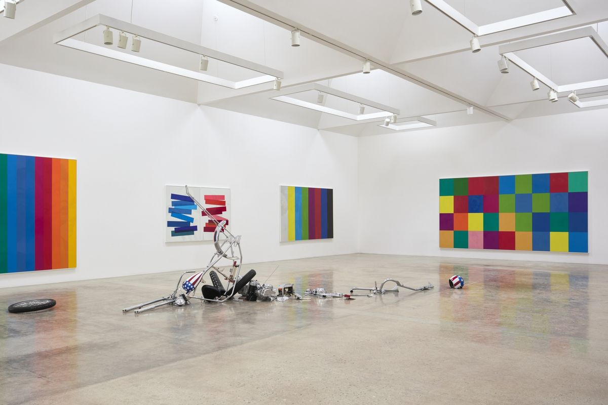 Installation-view-of-Hank-Willis-Thomas-at-Kayne-Griffin-Corcoran1