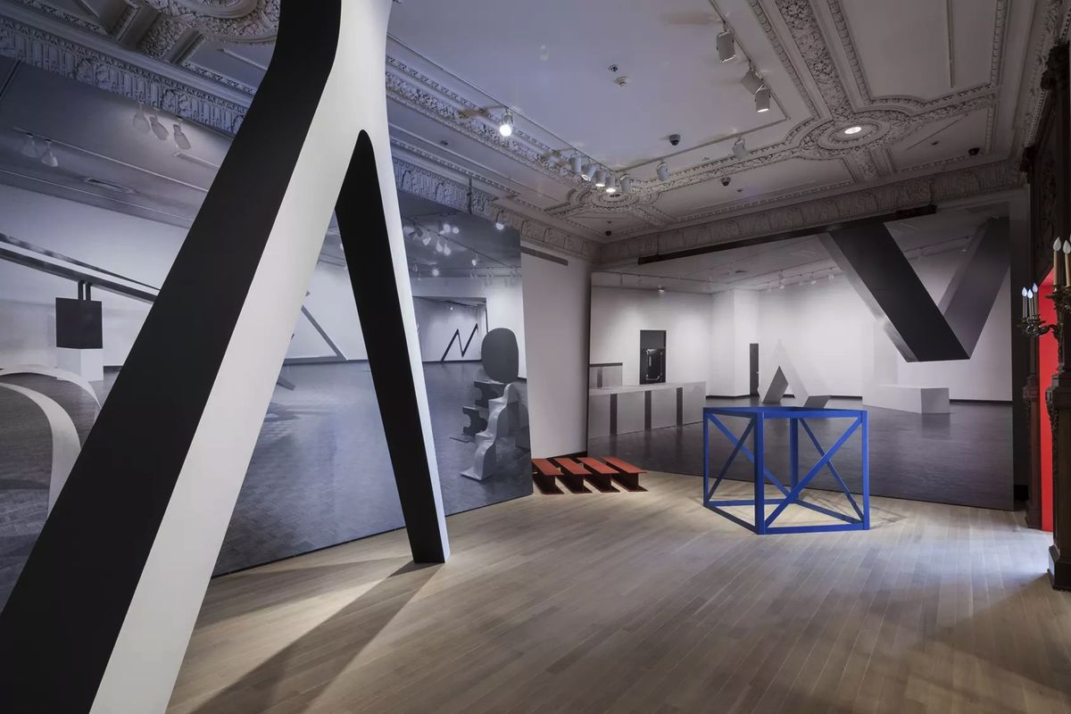 Installation view of Other Primary Structures at The Jewish Museum, New York. Credit- David Heald:The Jewish Museum