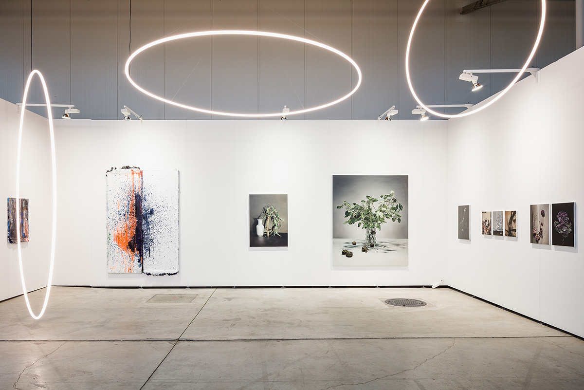 Installation view viennacontemporary 2019