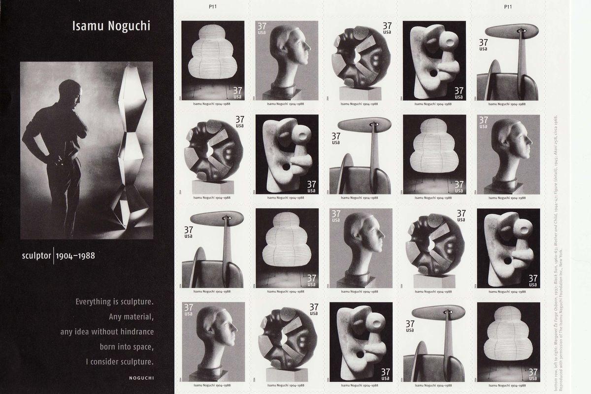 Isamu Noguchi Stamps