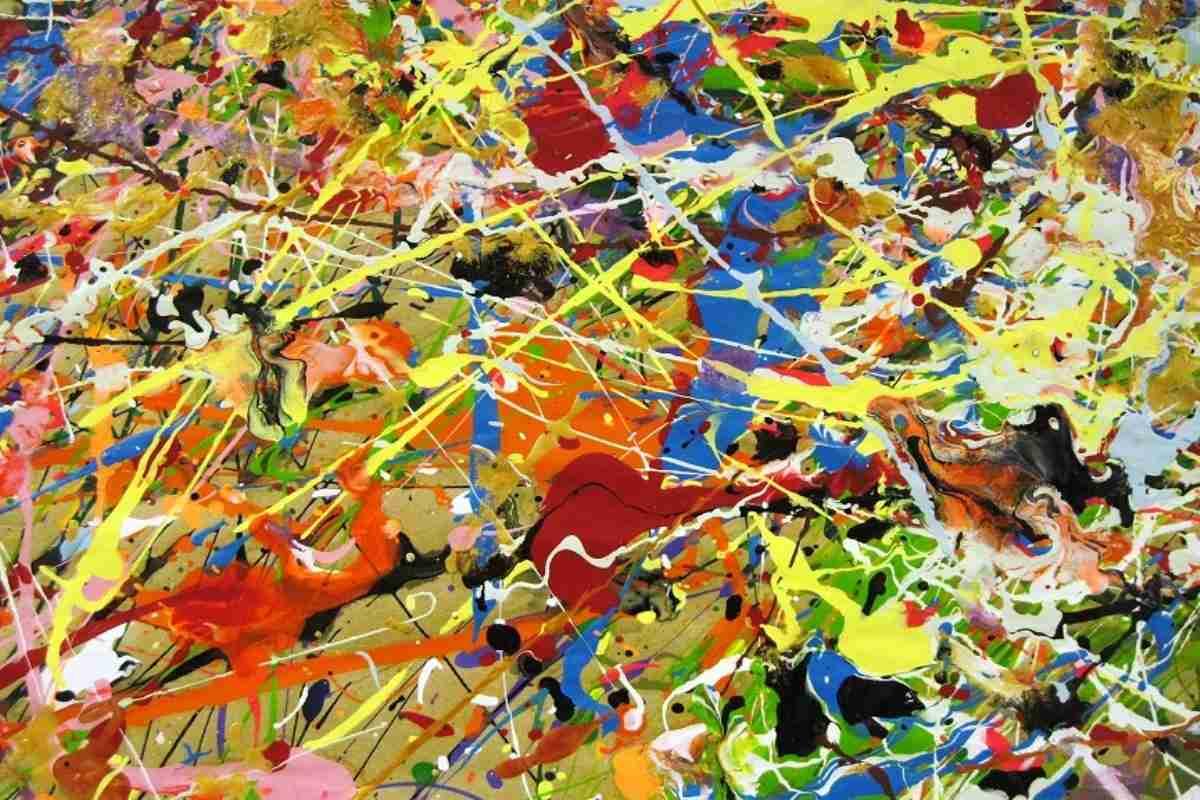 Jackson Pollock, detail