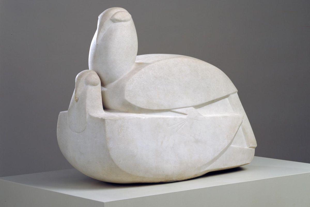 Jacob Epstein Doves 1914–15 via tate uk