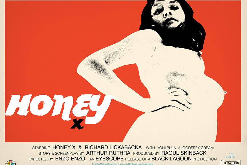 Jamie Hewlett - Honey Poster