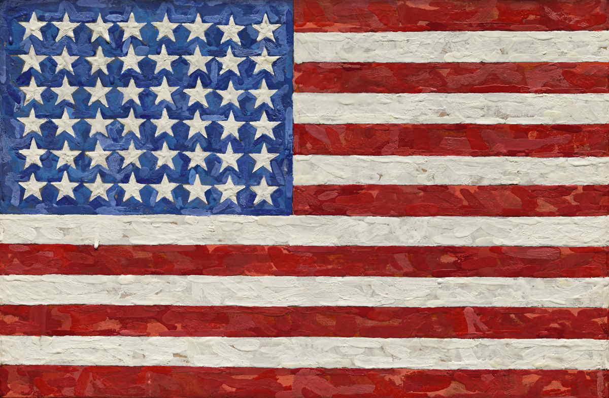 Jasper Johns - Flag - 1983