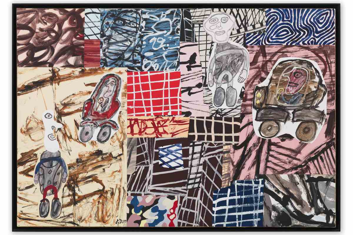 Jean Dubuffet - Parages frequentes (Busy Neighbourhood)