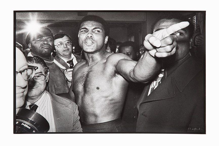 Jean Pierre Laffont - Ali vs. Frazier, 1974, (lot 63)