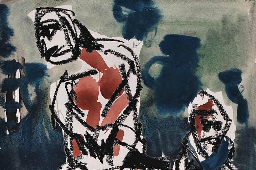 Jean - Yves Klein - artwork (detail)