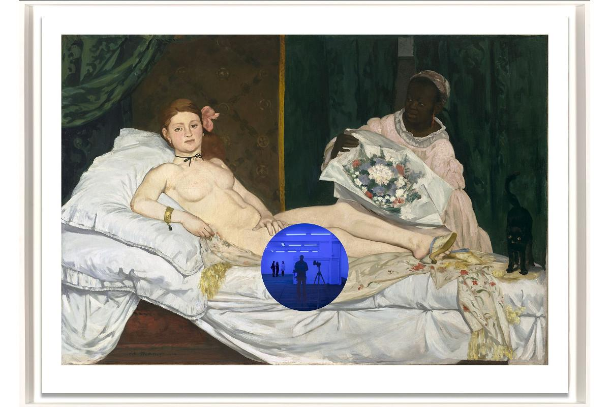 Jeff Koons - Gazing Ball Manet Olympia