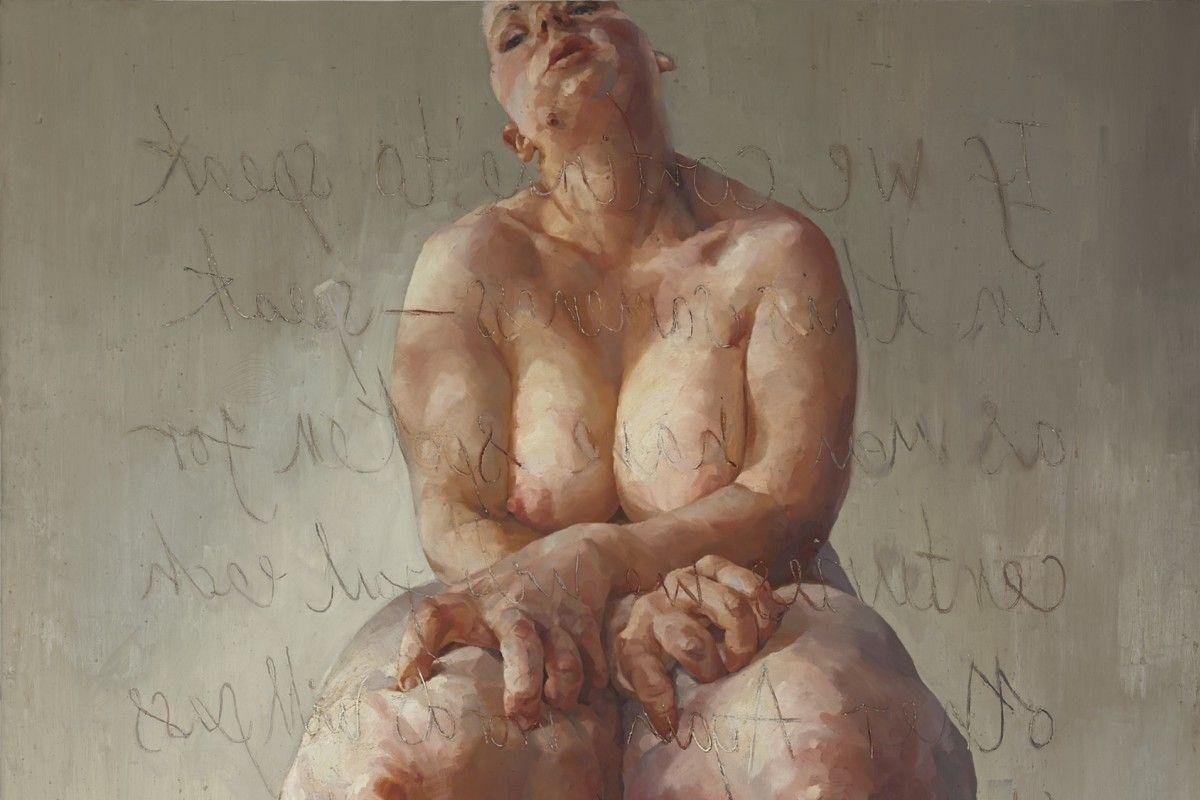 Jenny Saville - Propped (detail), 1992