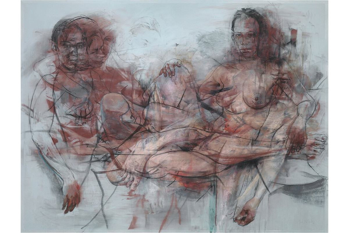 Jenny Saville - Study for Intertwine