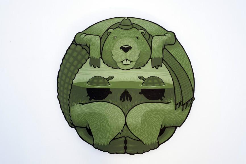 Jeremy Fish - Beaver Turtle 1