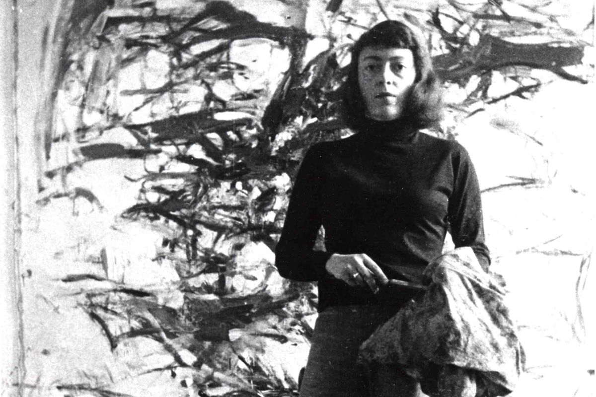 Joan Mitchell, via arthousefilmsonline com