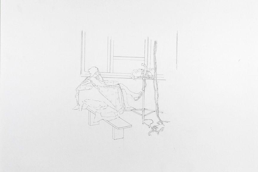 Joe Fig - Contemplation, Kate Gilmore