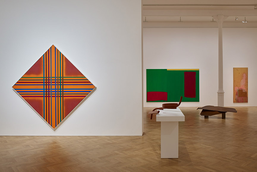 John Hoyland, Anthony Caro, Kenneth Noland exhibition installation view at Pace London 0