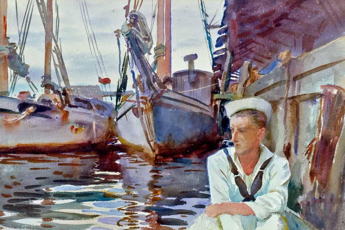 John Singer Sargent - Basin with Sailor
