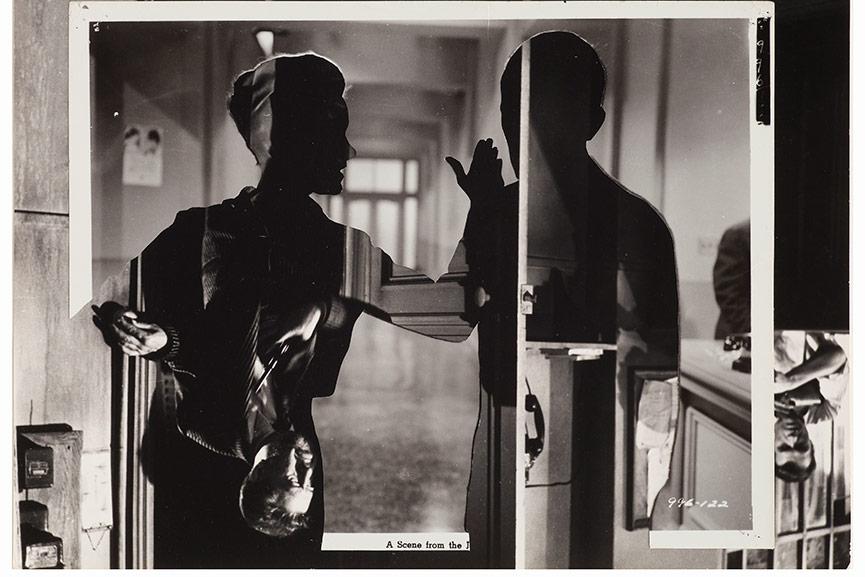 John-Stezaker---Double-Shadow-XXVII,-2014,-Collage,-23.7x29.4cm,-detail