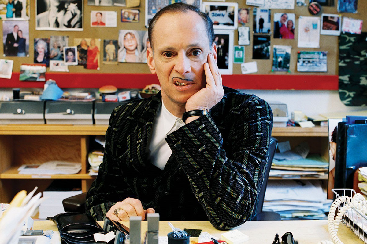 John Waters. Image via madfilm.org