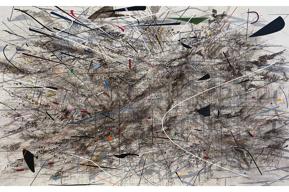 Julie Mehretu – Black City, 2007