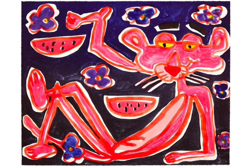 Katherine Bernhardt - African Violet, 2019