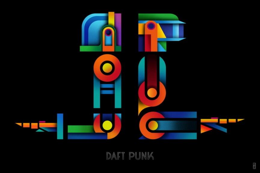 Kaz Oomori - Daft Punk, 2015