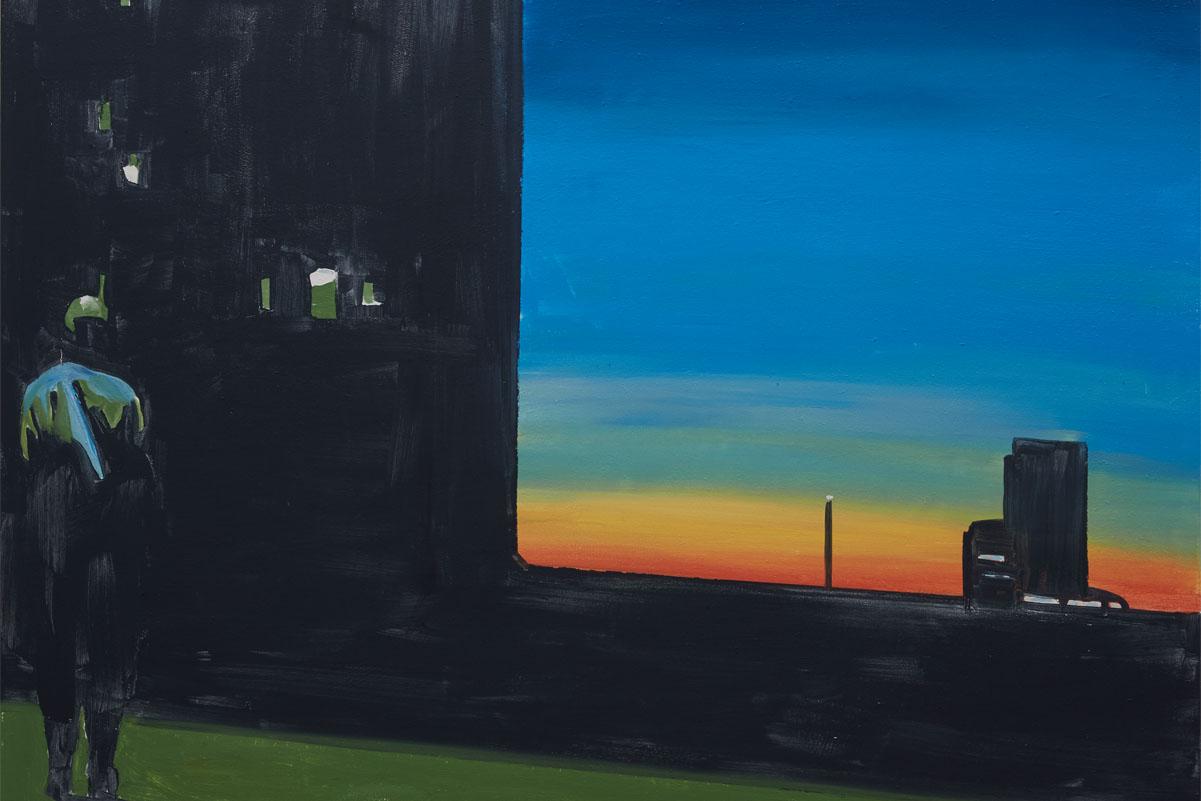 Koen van den Broek - Sunset, 2015 - oil on canvas