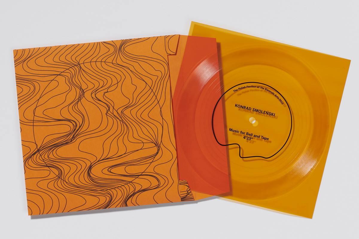 Konrad Smolenski - Flexidisc orange folder