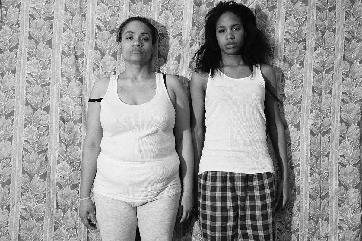 LaToya Ruby Frazier - Momme (Floral Comforter), 2008