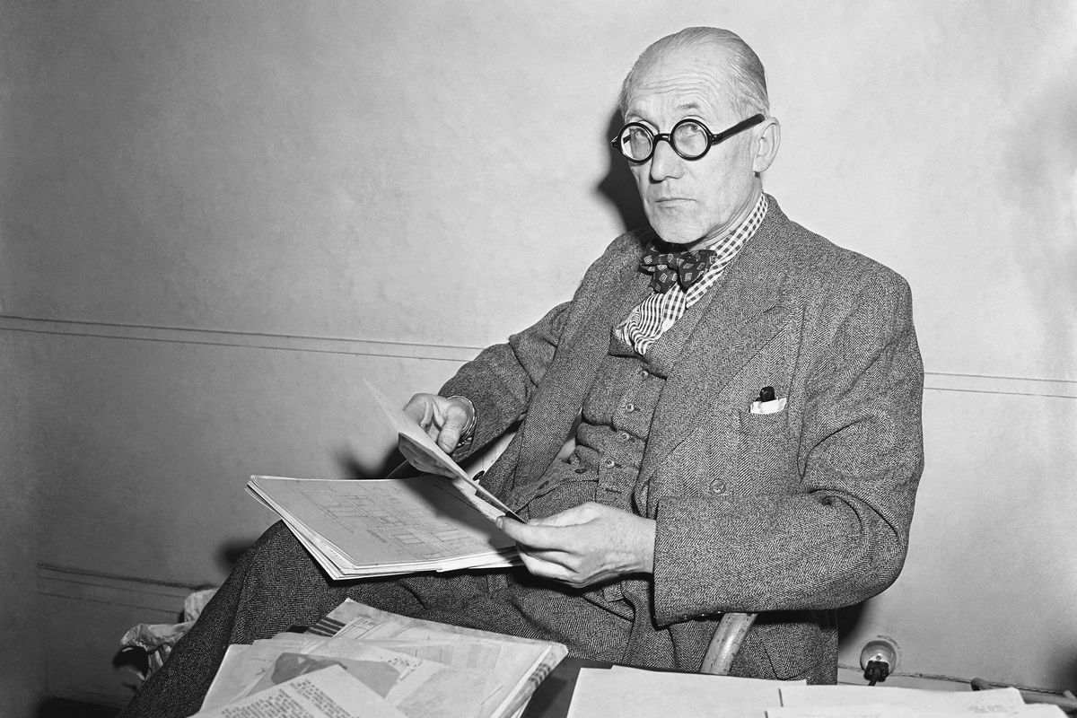 Le Corbusier, via forward com