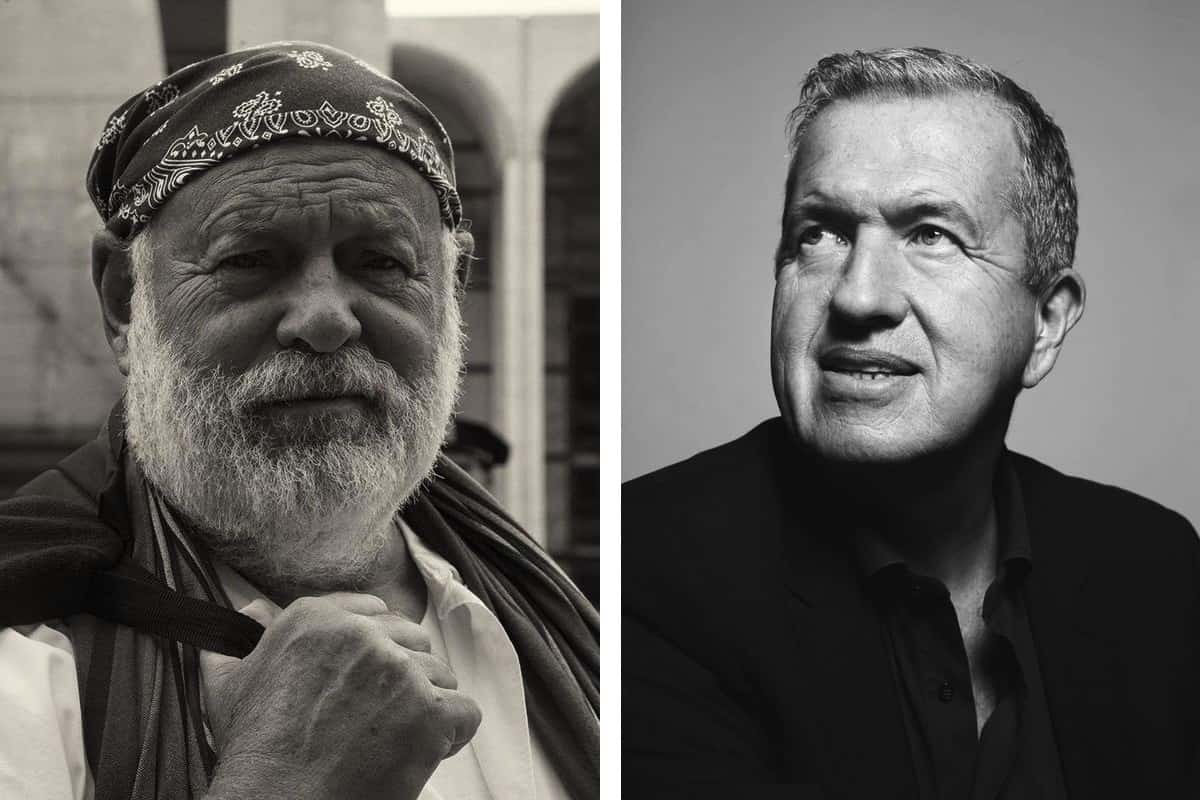 Left Bruce Weber, via hndphotography.com Right Mario Testino, via unit.nl