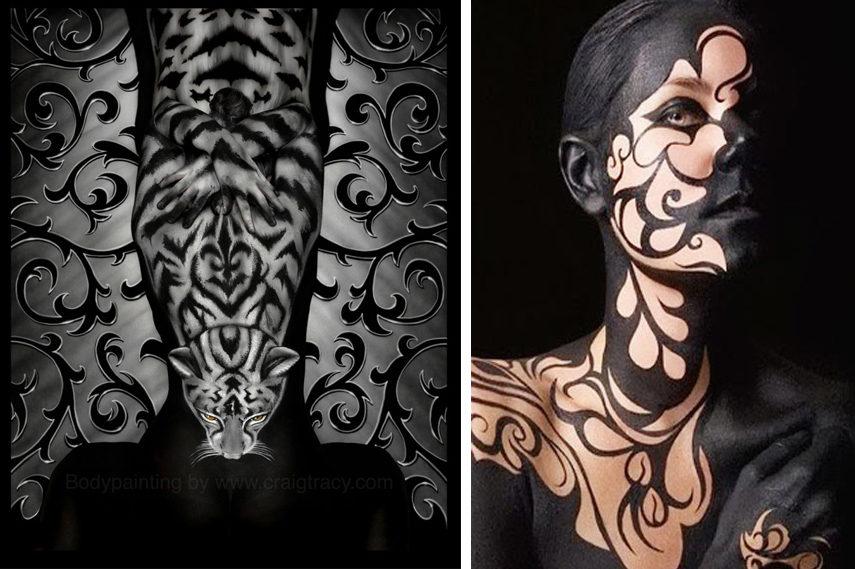 Body Paint Art Moments We Love Widewalls