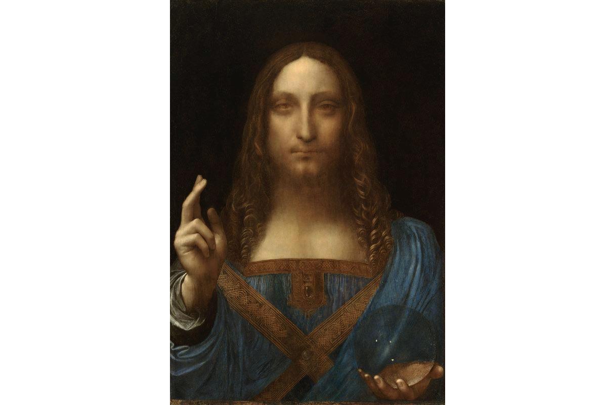 Leonardo da Vinci - Salvator Mundi, c1500