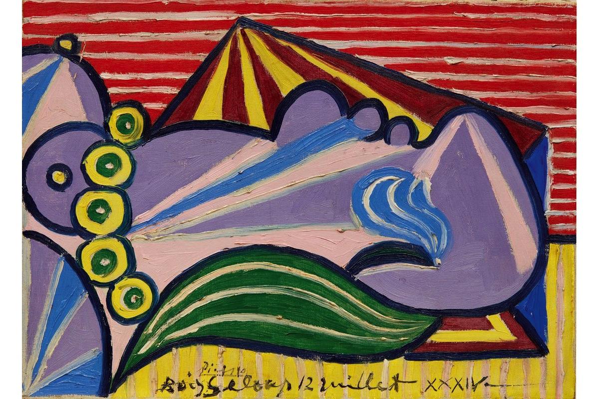 Lot 1014 - Pablo Picasso, Head of a Sleeping Woman (Tête de femme endormie)