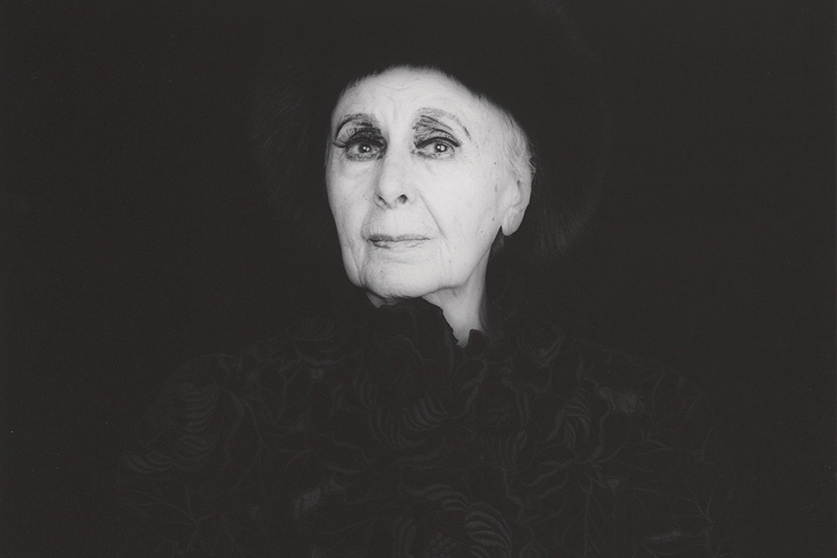 Louise Nevelson portrait by Robert Mapplethorpe