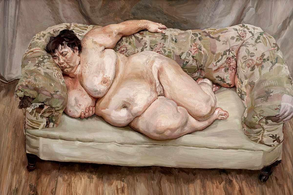 Lucian Freud - Benefits Supervisor Sleeping