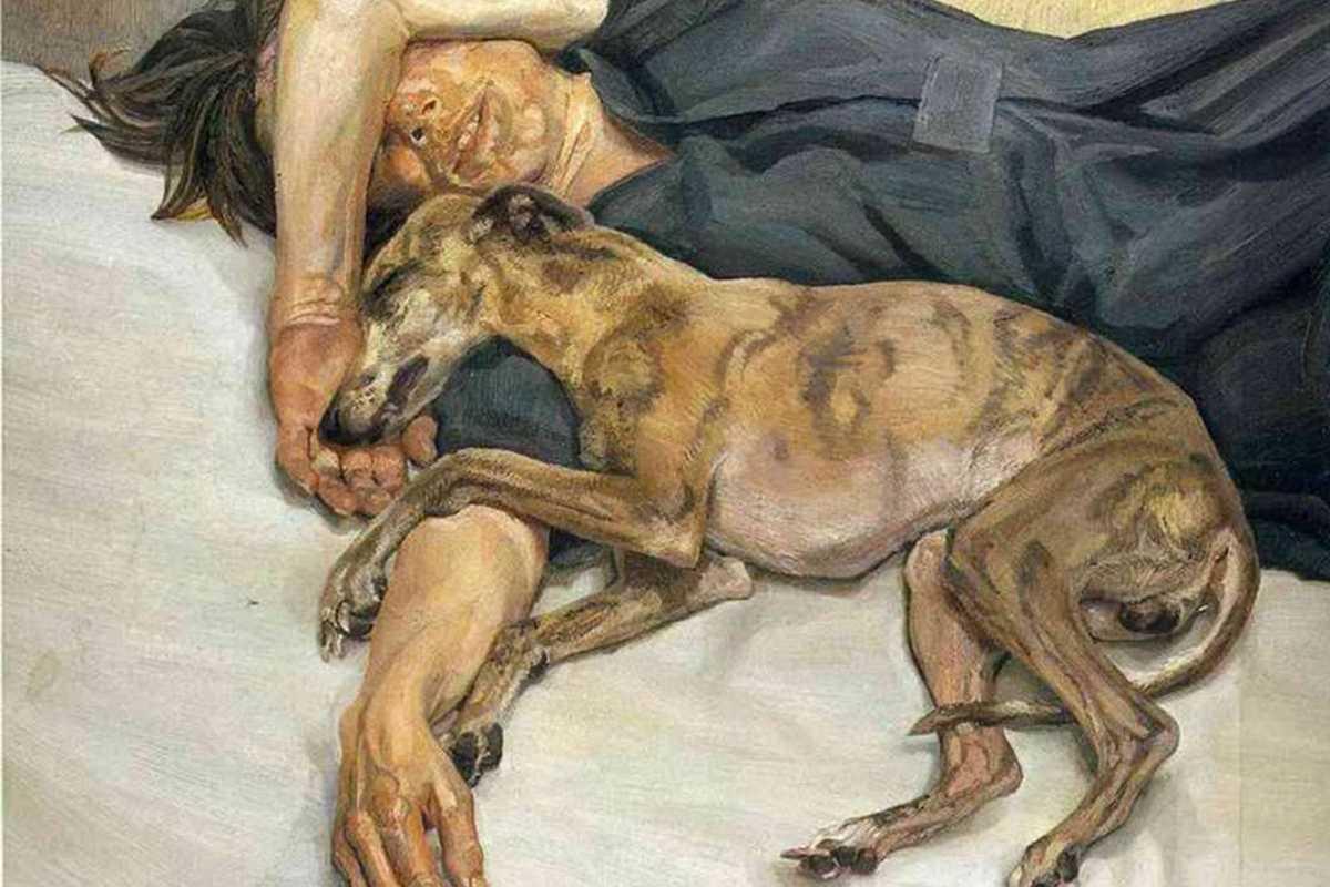 Lucian Freud - Double Portrait (1985-6) 1200x800