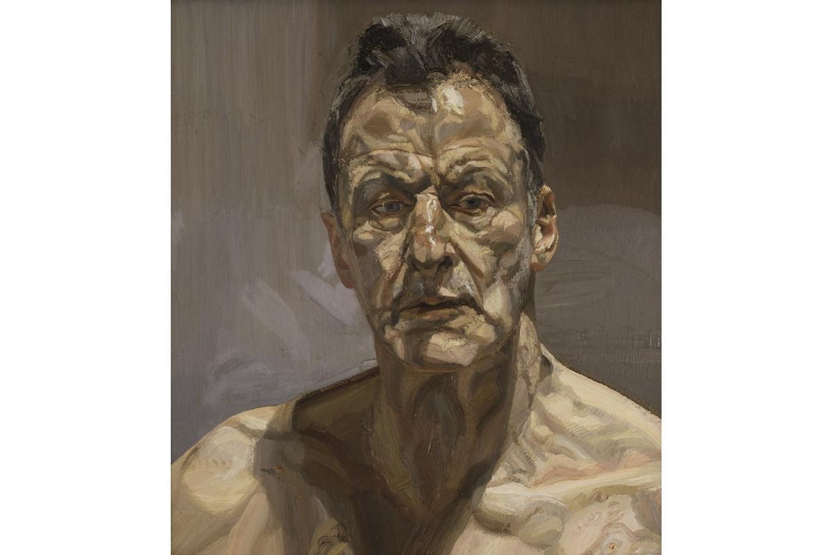 Lucian Freud - Self-portrait