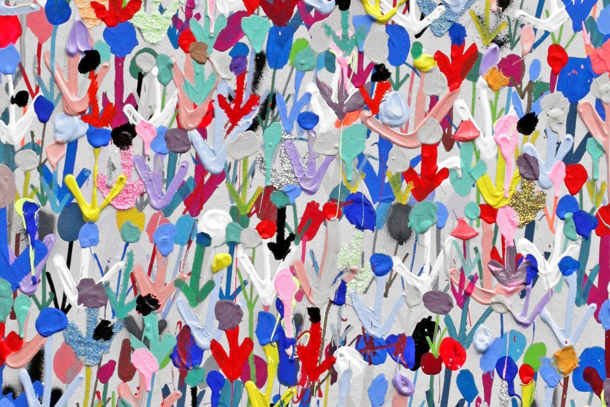 Ludovilk Myers - Mini Flowers (detail)