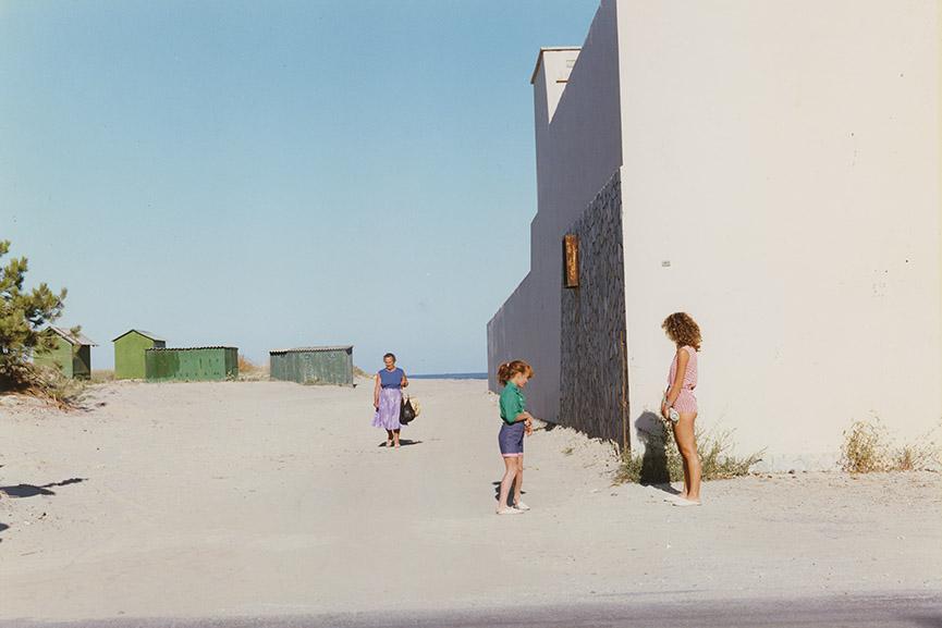 Luigi Ghirri - Marina di Ravenna, From the series Paesaggio Italiano, 1986