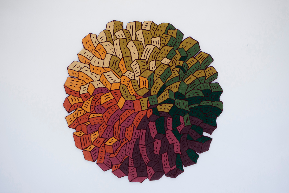 Lunar's Wool Artwork