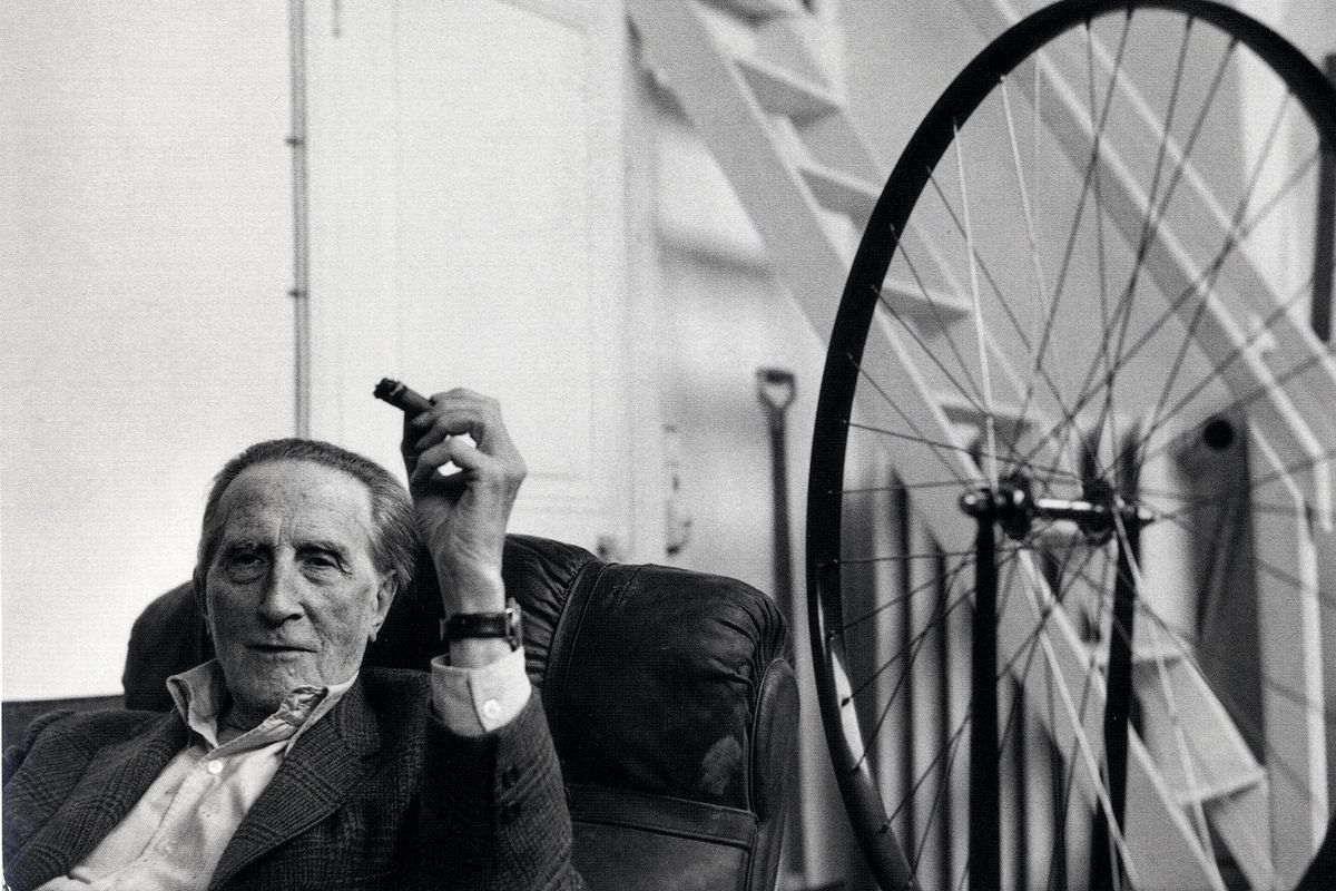 Marcel Duchamp, via jakeorr.co uk