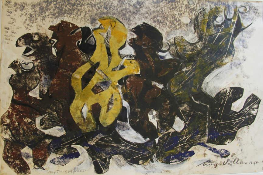 Margo Veillon - Metamorphose, 1967, Courtesy of the artist and Green Art Gallery