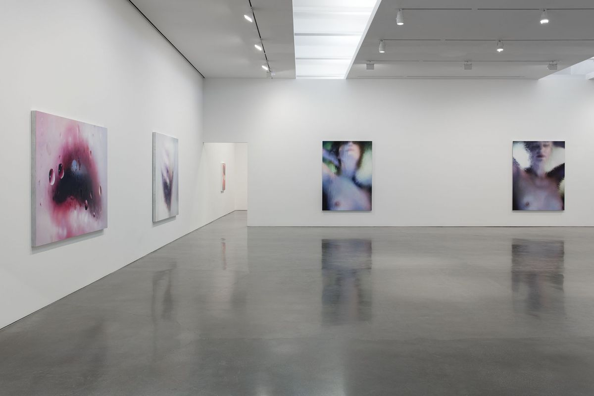Marilyn Minter, Installation View 1