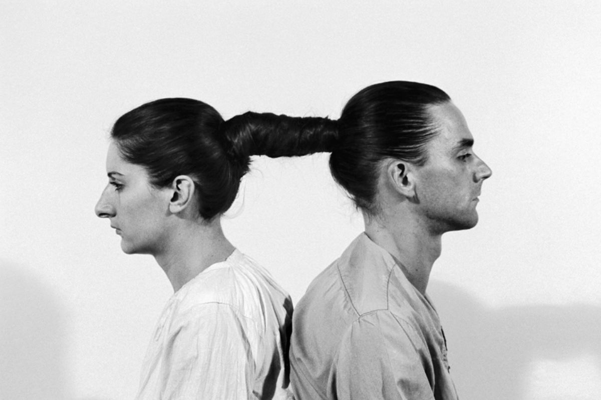 Marina Abramovic and Ulay - Relation in Time, 1977